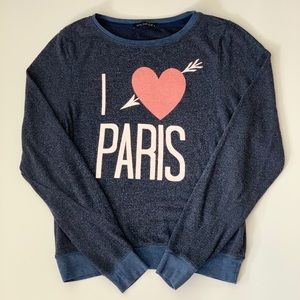 Wildfox I Love Paris Sweater